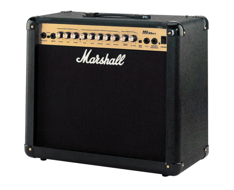 marshall mg30dfx electric guitar combo amp sold at mother of all guitar shop. Black Bedroom Furniture Sets. Home Design Ideas