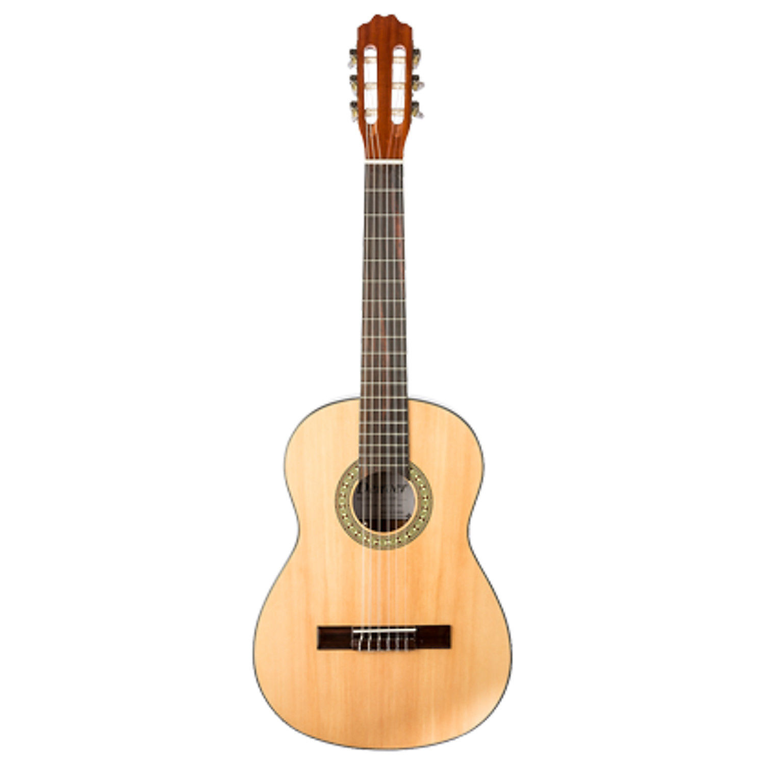 denver classical guitar 1 2 size natural sold at mother of all guitar shop. Black Bedroom Furniture Sets. Home Design Ideas